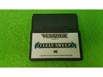 Cleansweep Vectrex clean sweep
